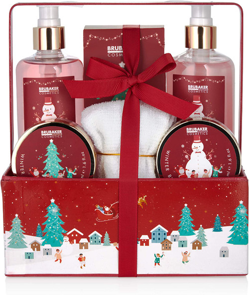 BRUBAKER Cosmetics Bath and Shower Gift Set-7Pcs