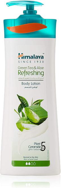 Himalaya Body Lotion Green Tea Aloe Refreshing-400 ml