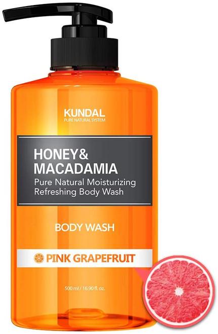 KUNDAL Pure Body Wash Pink Grapefruit-500ml