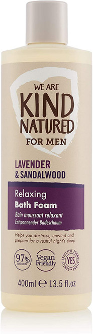 Kind Natured Mens Relaxing Bath Foam-400 ml