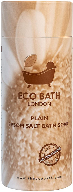The Eco Bath Plain Epsom Salt Bath Soak-1 kg