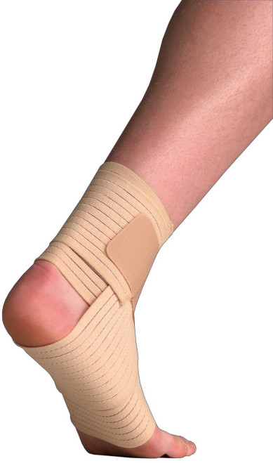 Thermoskin Elastic Ankle Wrap Support for Injured Ankles - 17-24cm