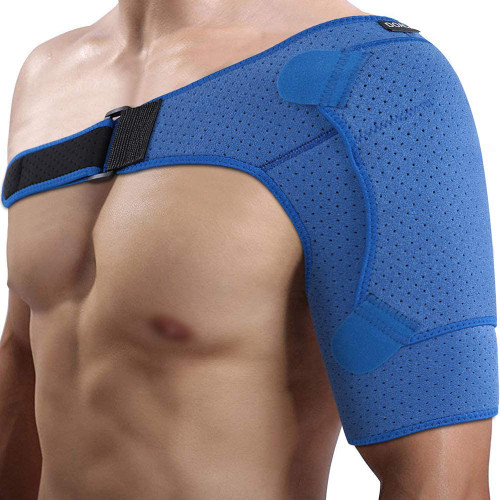 Sore Stiff Joints and Muscles Compression Shoulder Support Brace