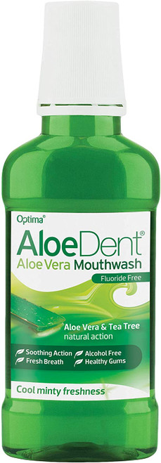 ALOE DENT Alcohol Free Minty Flavour Mouthwash - Pack of 3
