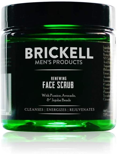 Brickell Mens Renewing Face Scrub-59ml