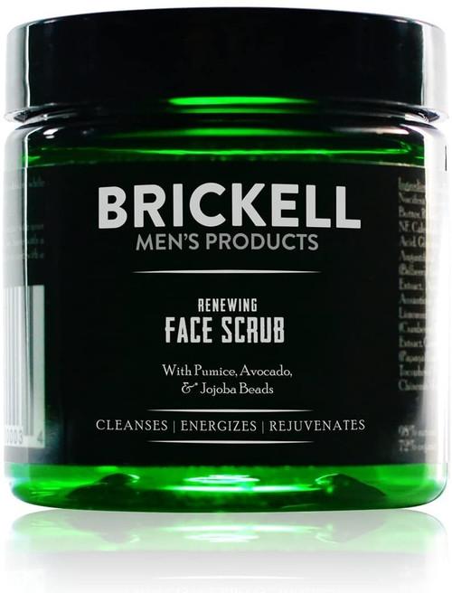 Brickell Mens Renewing Face Scrub-118ml