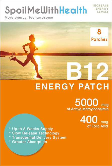 SpoilMeWith Essentials Vitamins B12  Energy Patch - 8 Patches