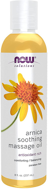 NOW Solutions Arnica Soothing Massage Oil