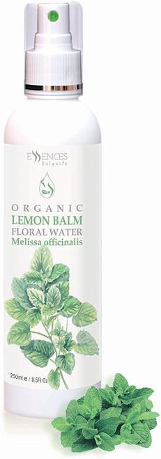 Organic Lemon Balm Floral Water Melissa officinali-250ml