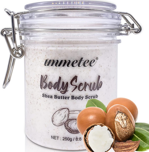 immetee Shea Butter Body Scrub-250g
