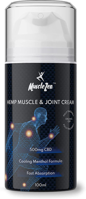 MuscleZen Muscle and Joint Pain Relief Cooling Menthol Handy Pump - 100ml