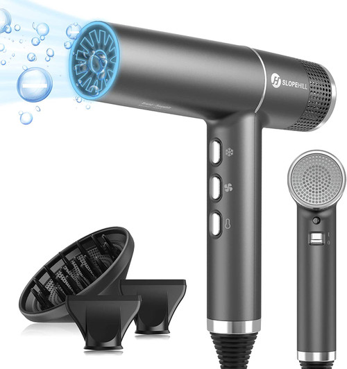 Slopehill Powerful Fastest Drying Ionic Hair Dryer with Brushless Motor