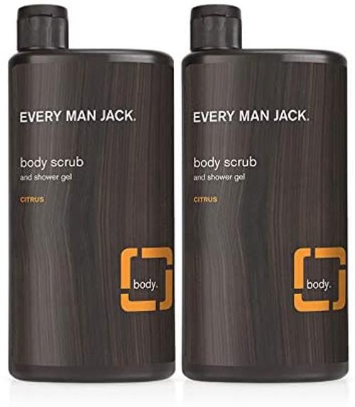 Every Man Jack Mens Body Scrub-2 Bottles