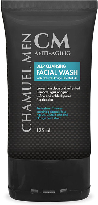 Anti Aging Daily Mens Face Cleanser-125ml