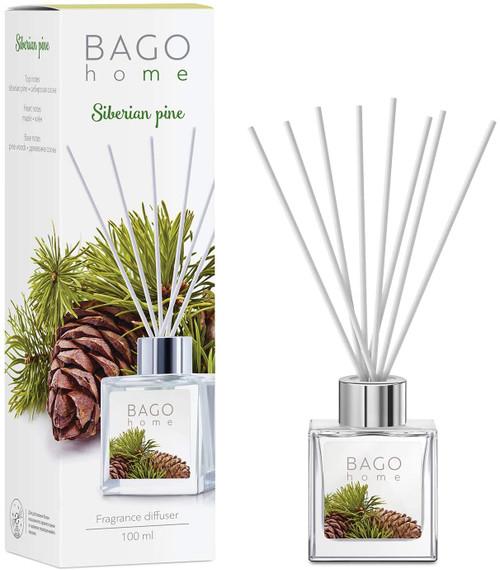 BAGO Siberian pine Long Lasting Fragrance Diffuser Set -100 ml