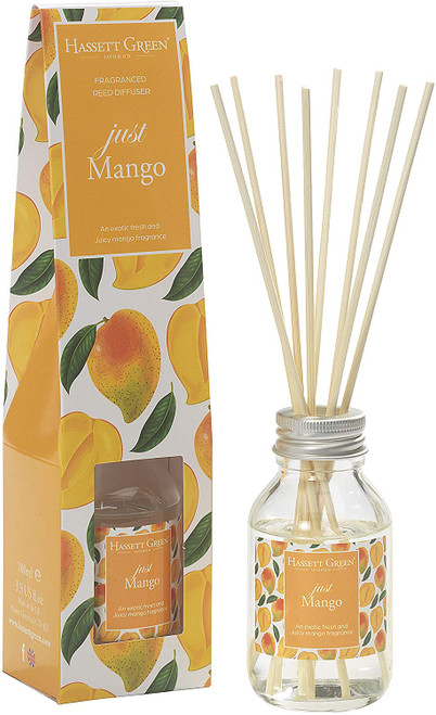 Hassett Fresh and Juicy Just Mango Reed Diffuser - 100ml