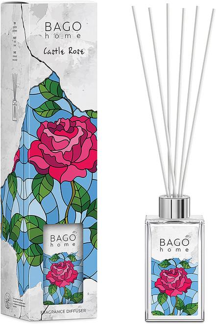 BAGO Castle Rose Long Lasting Fragrance Diffuser Set -110 ml