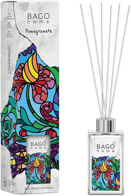 BAGO Pomegranate Long Lasting Fragrance Diffuser Set -110 ml