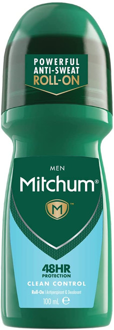 Mitchum Anti-Sweat Men 48HR Protection Roll On Deodorant - Clean Control