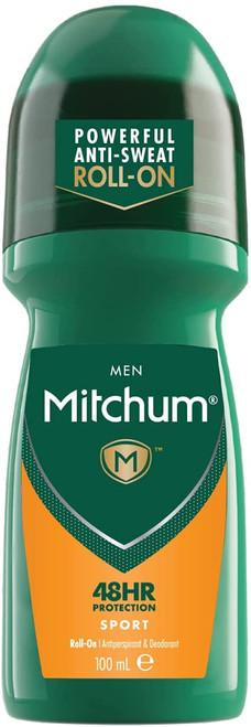Mitchum Anti-Sweat Men 48HR Protection Roll On Deodorant - Sports
