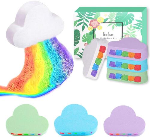 Magical Rainbow Bath Bomb Gift Set