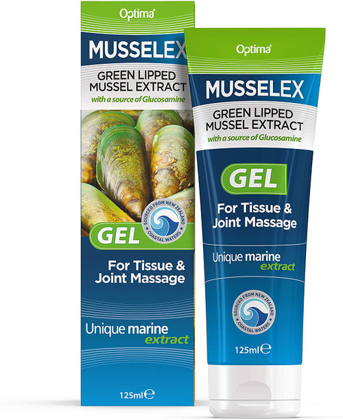 Optima Musselflex Tissue and Joint Massage Gel- Pack of 3
