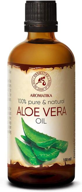 Aromatika Pure and Natural Aloe Vera Massage and Bath Oil - 100ml