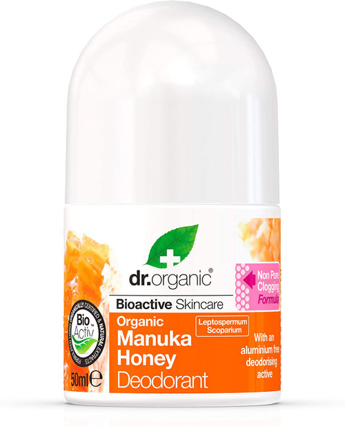 DR ORGANIC Manuka Honey Revitalising Liquid Deodorant -50ml