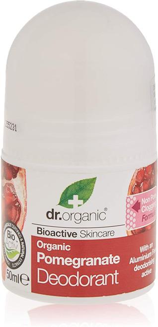 DR ORGANIC Organic Pomegranate Liquid Deodorant - 50 ml