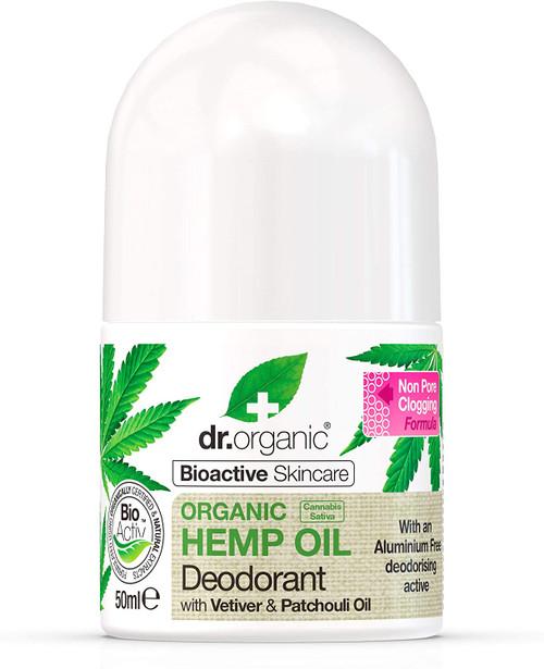 DR ORGANIC Organic Hemp Oil Liquid Deodorant - 50 ml