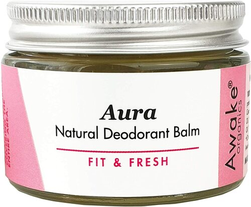 Aura Fit and Fresh Natural Deodorant Balm - 50g