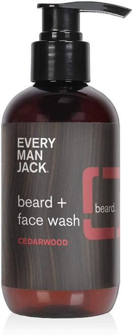 Every Man Jack Beard And Face Wash Cedarwood
