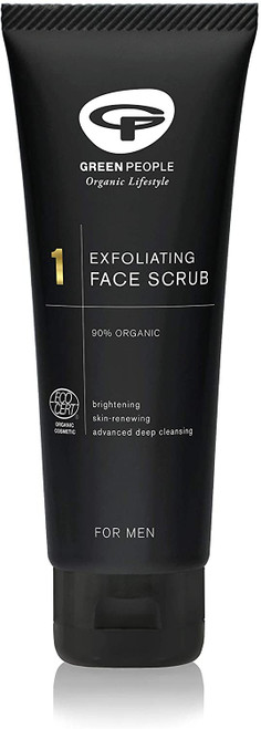 Green People For Men No 1 Exfoliating Face Scrub