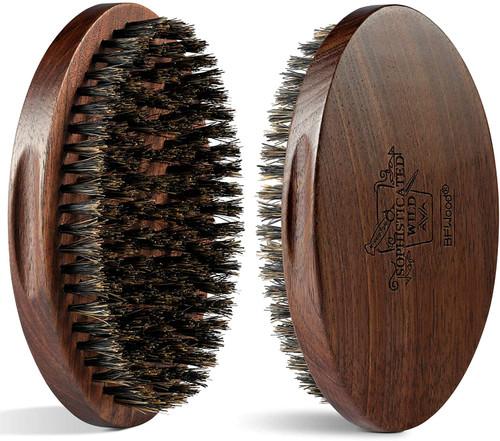 BFWood Large Boar Bristle Beard Brush for Men