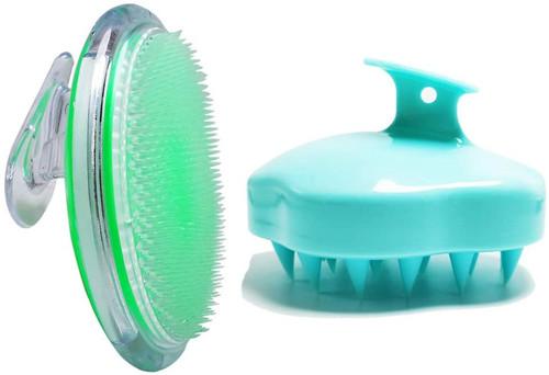 2pcs Exfoliating Brush for Ingrown Hair Treatment