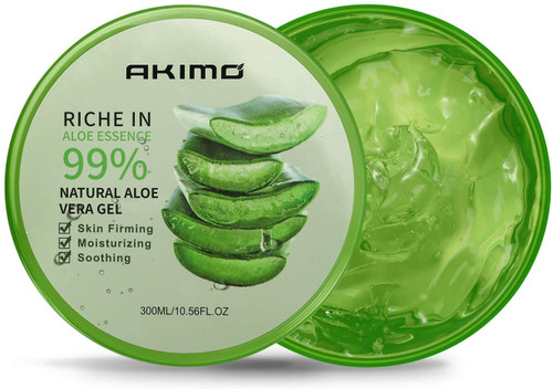 Organic Aloe Vera Gel Moisturizing Cream-300 ML