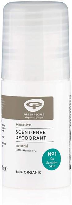 Green People Fragrance Free Non Irritating Deodorant - 75ml