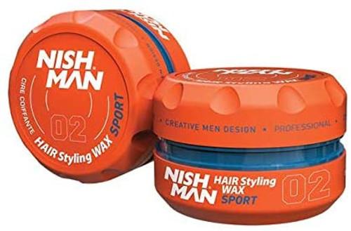 Nish Man HAIR Styling GEL WAX-Orange