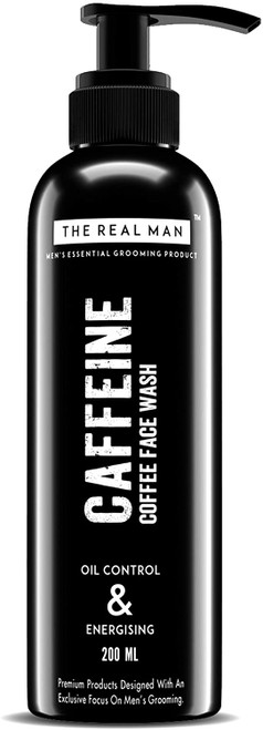 THE REAL MAN Caffeine Oil Energising Face Wash