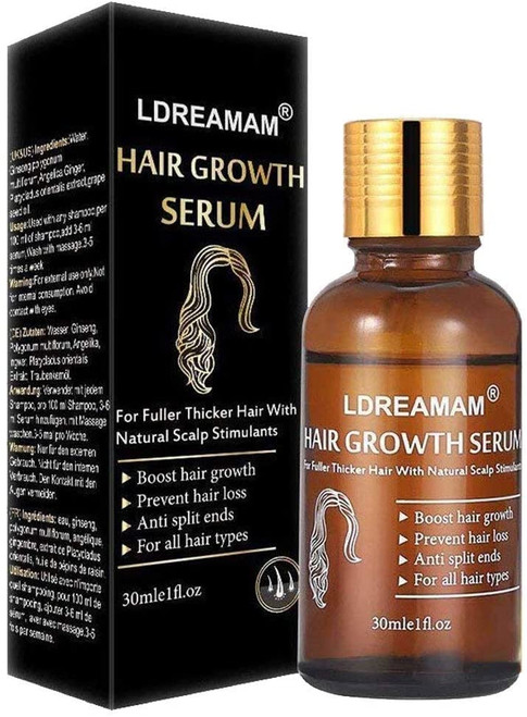 Hair Growth Serum And Treatment