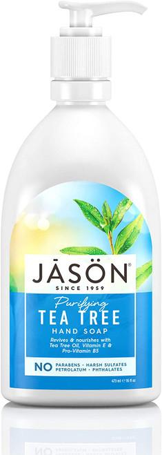 Jason Natural Purifying Tea Tree Liquid Hand Soap - 473 ml