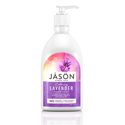Jason Natural Calming Lavender Liquid Hand Soap - 473 ml