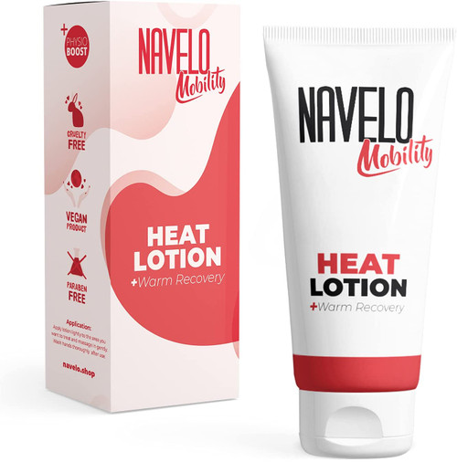 Navelo Muscle Warm Recovery and Soothing Heat Lotion