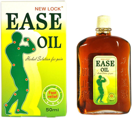 New Lock Ease Oil Herbal Solution For Pain Relief - 50ml