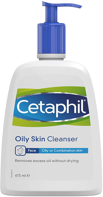 Cetaphil Soap Free Oily Combination Skin Cleanser - 473ml