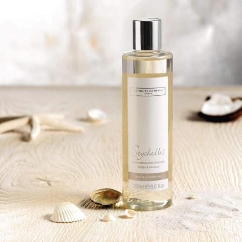 The White Company Seychelles Bath & Shower Gel