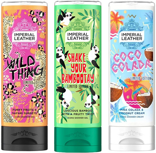 Imperial Leather Shower Gel Exotic Icon Set-3 x 250ml