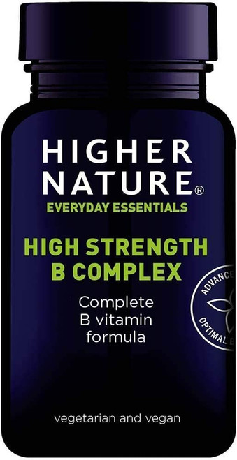 Higher Nature Psychological function Vitamin B Complex - 90 Capsules
