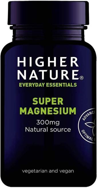 Higher Nature High strength Super Magnesium Capsules - 90 Capsules