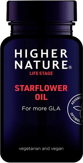 Higher Nature Hormone Balance Starflower Oil Capsules - 90 Capsules